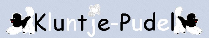 Kluntje Pudel Logo - Bärbel Muheibesch