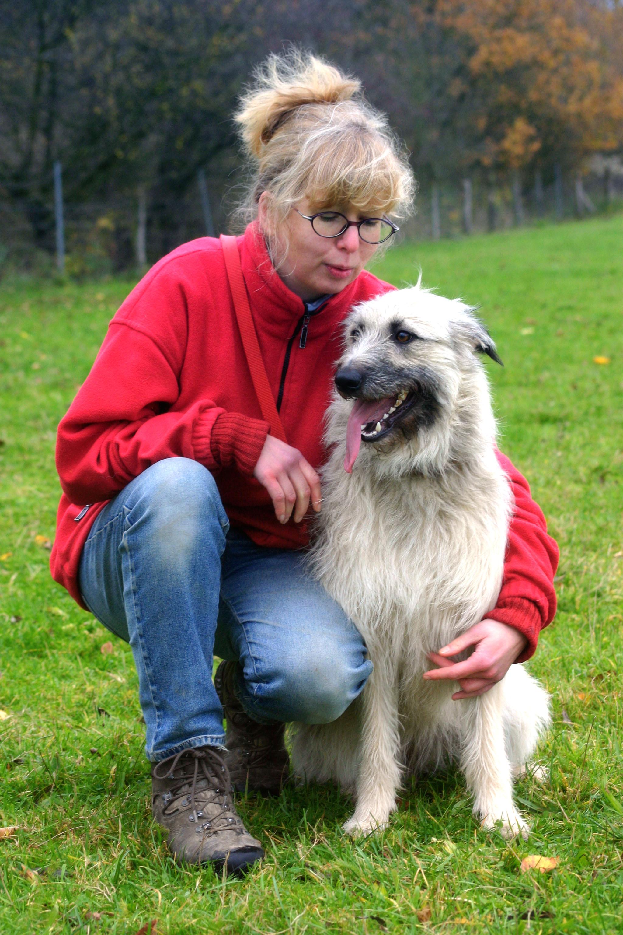 Hundezüchterin Martina Aufrecht