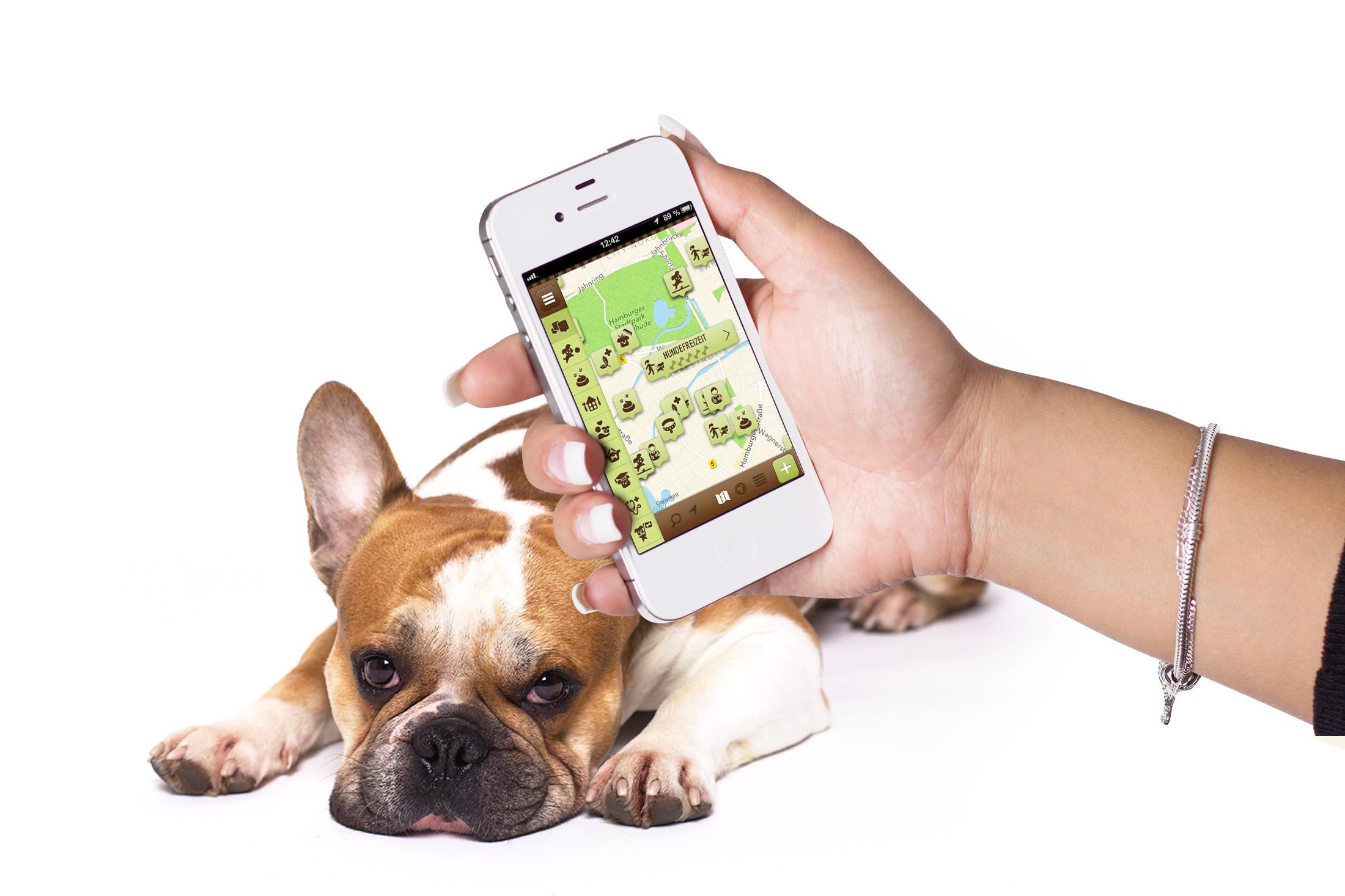 neue hund app dog 39 s places issn 39 r de hunde news. Black Bedroom Furniture Sets. Home Design Ideas