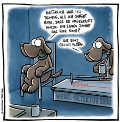 Hund beim Doktor