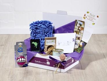 Die Überraschungsbox für alle Hundeliebhaber und deren Hunde zu Weihnachten