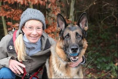 Bea Nicky Gyr & Schäferhund Nico