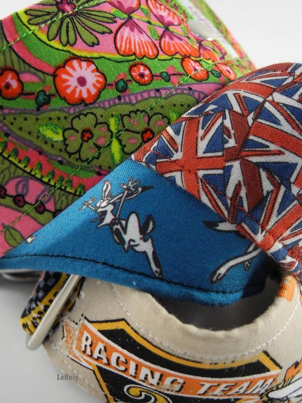 Hundehalsband mit England Flagge - klein