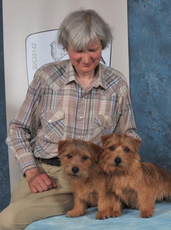 Frauke Hinsch und ihre Hunde