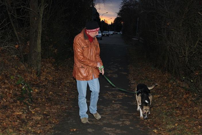 06.12.2013, der 1. (kurze) Spaziergang