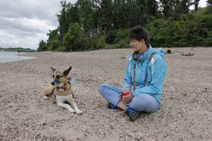 24.05.2014, am Hundestrand in Oppenheim