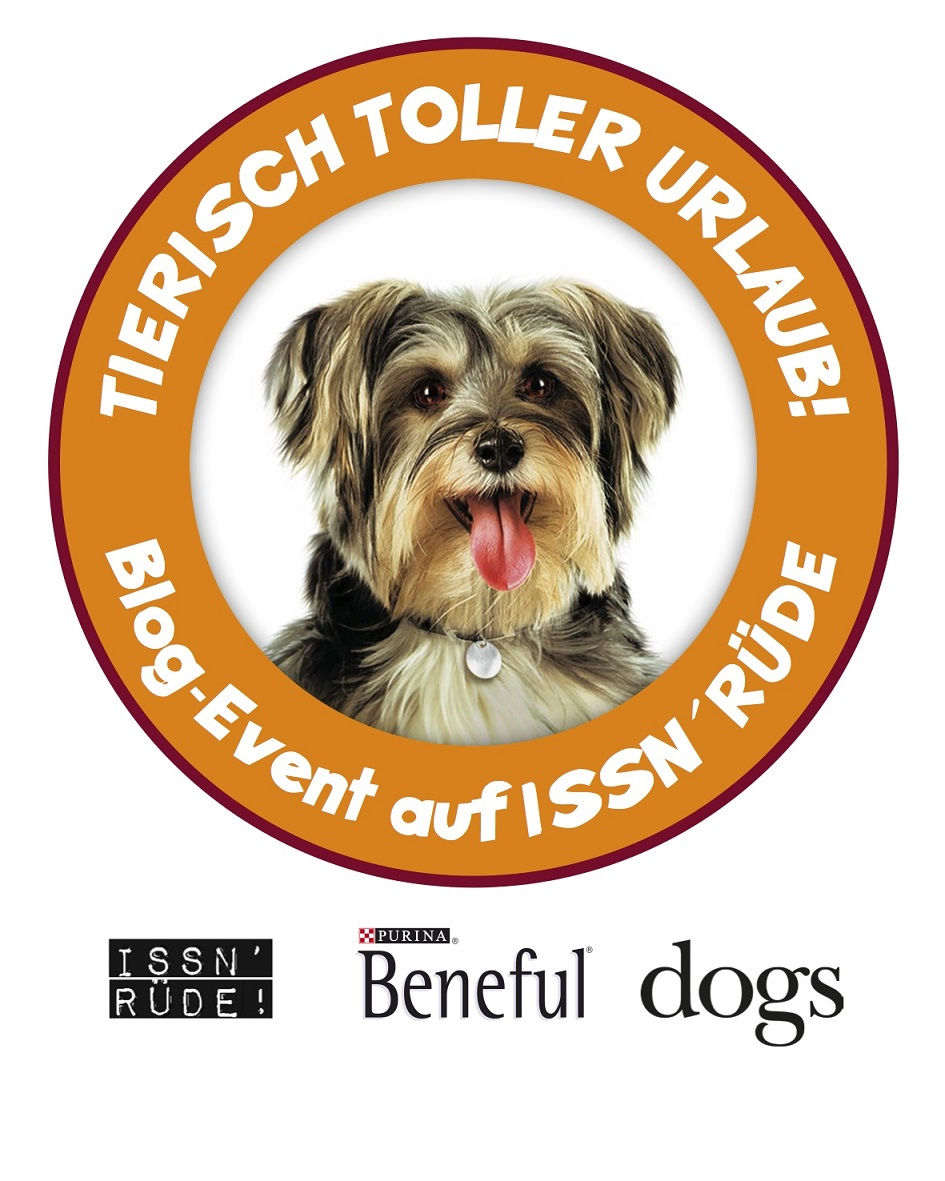 Issn' Rüde! Badge Sommer Aktion Hunde Blog