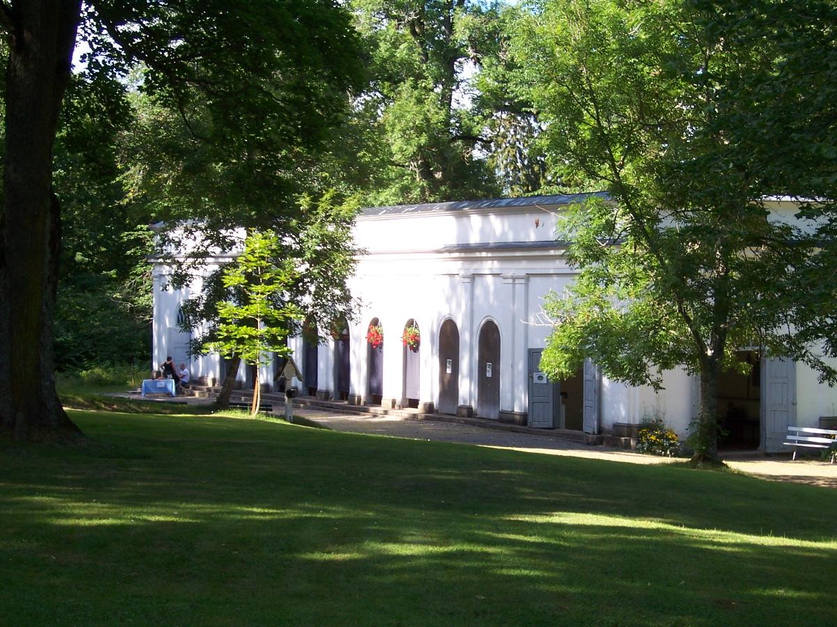 Das Brunnenhaus in Medevi Brunn