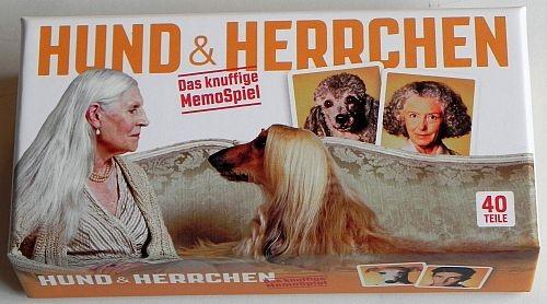 hund und herrchen memo spiel