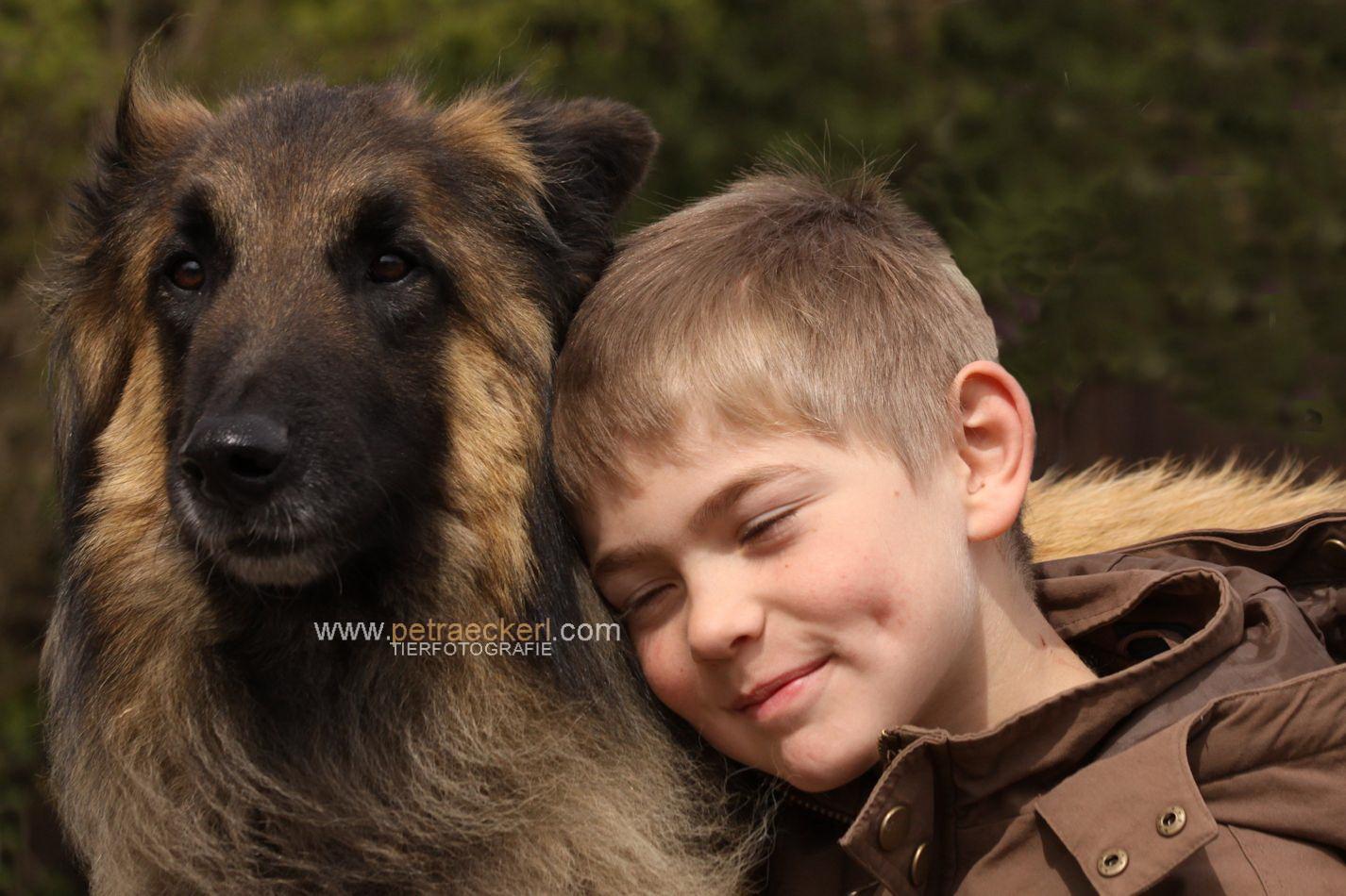 Hund und Kind