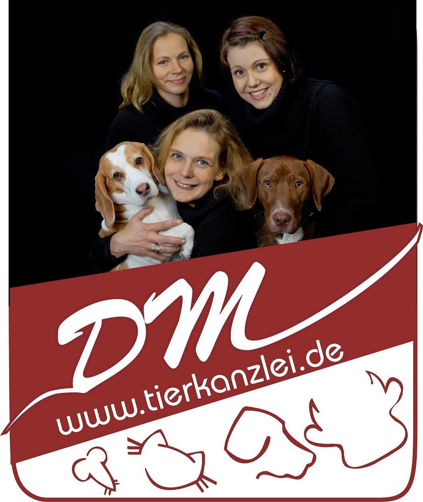 Tierkanzlei Logo mit Kollegen
