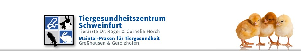 Tiergesundheitszentrum Schweinfurt Logo