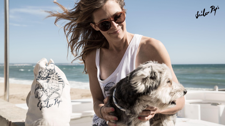 Sailor Peps Ellen Patzschke mit Hund