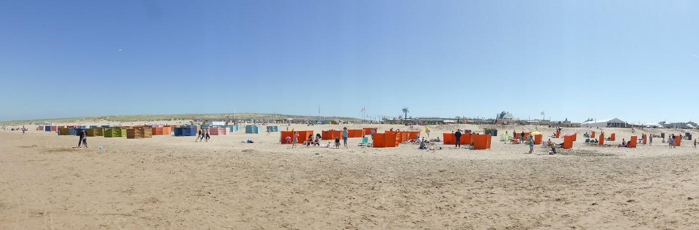Urlaub in Nordwijk - am Strand