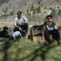 patricia mit Mann und Hunden