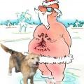Weihnachts-Hund