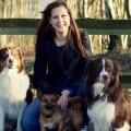 Julia Klein und Hunde