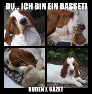 Du…ich bin ein Basset – Lebensweisheiten aus Hundesicht