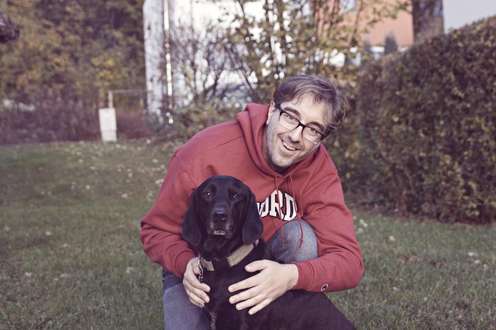 Hund für 3D Modell Mogli mit Werner