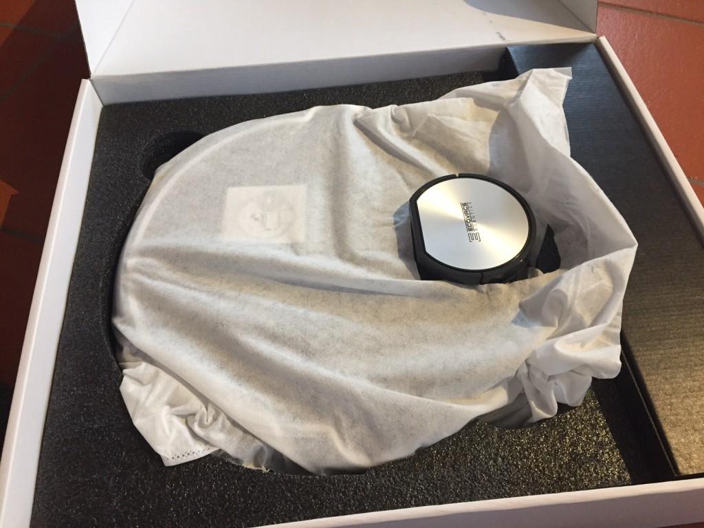 ecovacs deebot r95 ausgepackt