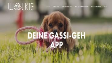 Walkie App: Gassi-Geher per Knopfdruck bestellen