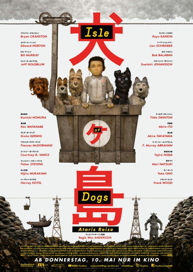 Isle of Dogs Kinofilm Filmplakat