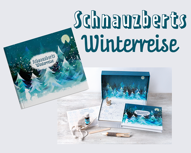 Schnauzberts Winterreise - ein ganz besonderer Adventskalender für Mensch und Hund
