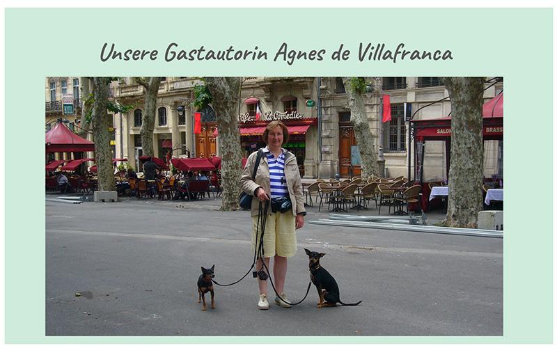 Autorin Agnes de Villafranca